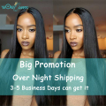 7A Brazilian Virgin Hair Straight 4 Bundles Queen Hair Products Cheap Real Human Hair Bundles Weave Brazilian Straight Hair