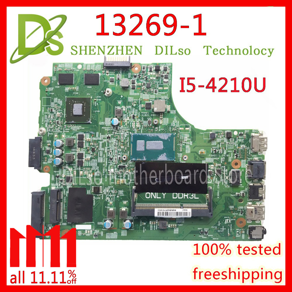 KEFU 13269-1 For DELL inspiron 3542 DELL 3542 3442 5749 motherboard 13269-1 PWB FX3MC REV A00 motherboard I5-4210 PM dell inspiron 3542 4019