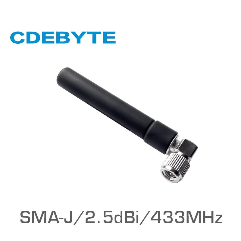 ANTENNA 433 MHz 5dbi Connettore SMA SPINA maschio dritto onnidirezionale UHF ANTENNA