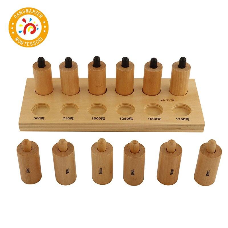Jouet bébé Montessori matériel pression sensorielle exercices édition ordinaire poids perçu aides pédagogiques enfants jouet