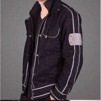 Sword Art Online ALfheim Online Kirito cosplay costume hoodie jacket coat