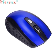 mosunx Mecall Portable 2.4G Wireless Optical Mouse Mice For