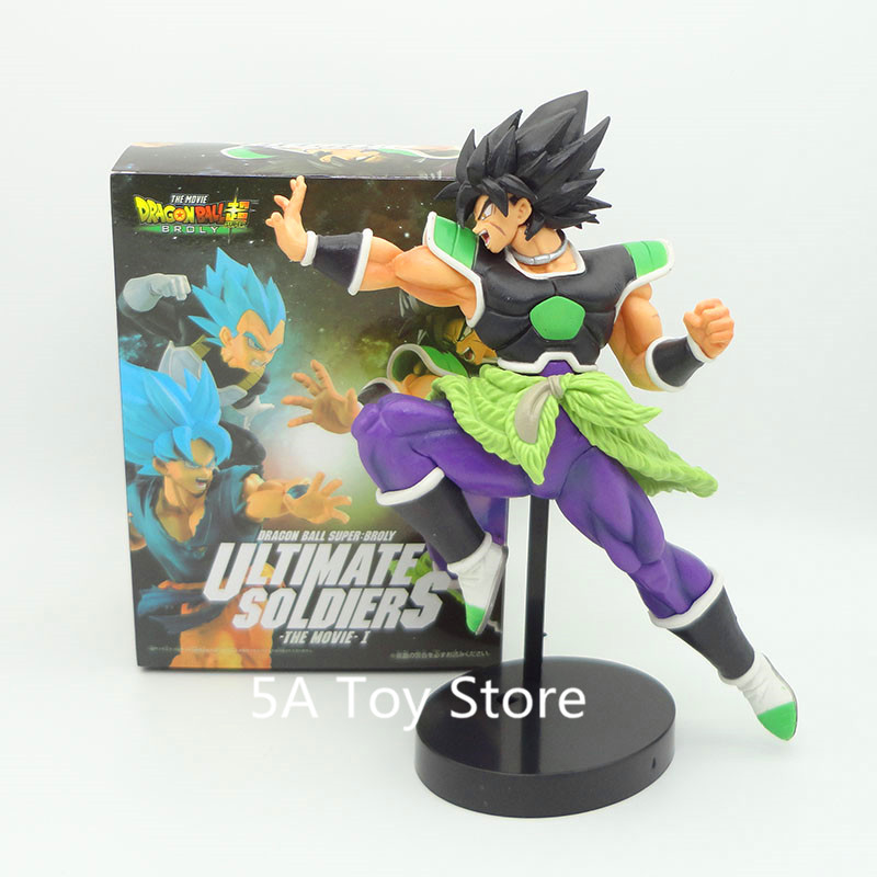 Dragon ball Z Super Ultimate Soldiers The Movie Broly Figurine PVC Action Figure Collectible Model Toys Doll
