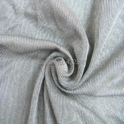 EMI stínicí stříbrná vláknitá tkanina Antiradiační tkanina Vodivá tkanina stříbrná 27 #