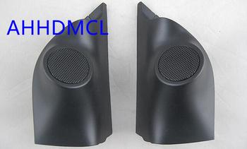 Szyny głośnikowe do montażu głośników samochodowych uchwyty montażowe gumowe drzwi kątowe dla Ford Ranger 2012 2013 2014 tanie i dobre opinie Skrzynek głośnikowych ABS+PC+Metal AHHDMCL Black 0 3kg Car audio door angle gum tweeter refitting