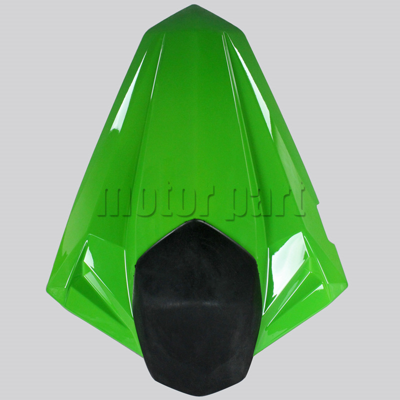 For 2013-2014 Kawasaki Ninja 300R EX300R Motorcycle Rear Passenger Seat Cover Cowl Green 13 14 for 2002 2005 kawasaki ninja zx9r zx 9r motorcycle rear passenger seat cover cowl black 01 02 03 04 05