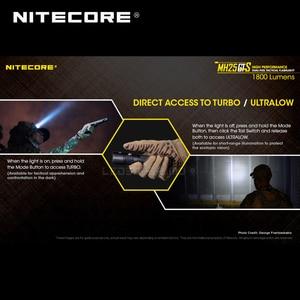 Image 5 - Multitask hibrid serisi Nitecore MH25GTS XHP35 HD LED yüksek performanslı çift yakıt 1800 lümen taktik el feneri pil