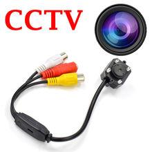 Mini Wired CCTV Security Color Video Audio Camera Surveillance