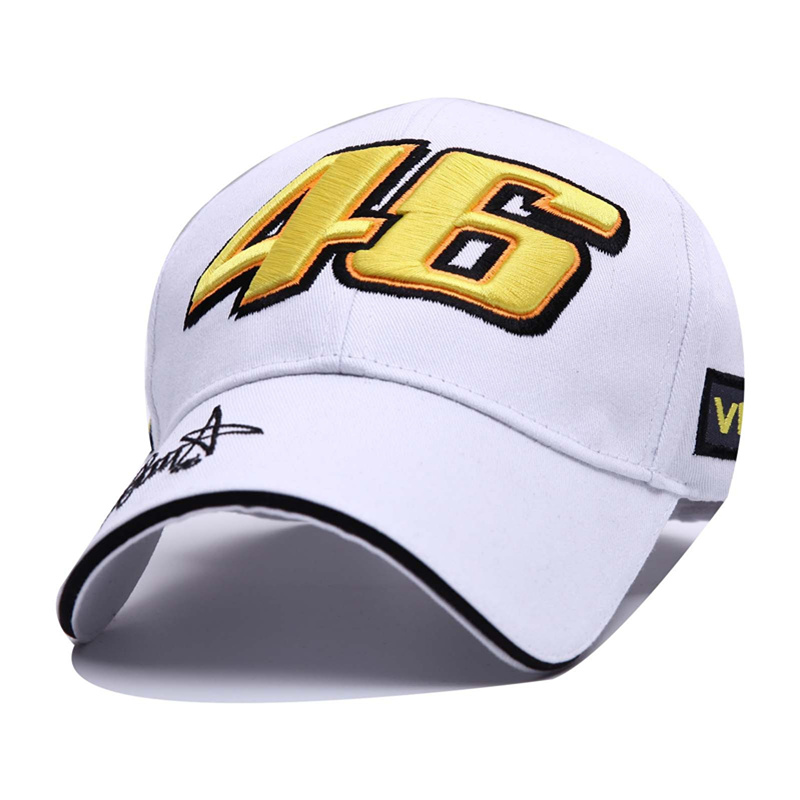 VORON cotton Baseball Cap Wholesale Rossi 46 Embroidery Snapback Cap Hat Motorcycle Racing Caps VR46 Sport Hat for Men Women sute wholesale new fashion cap summer fall cotton casual snapback hat for men baseball cap women usa embroidered cotton hat