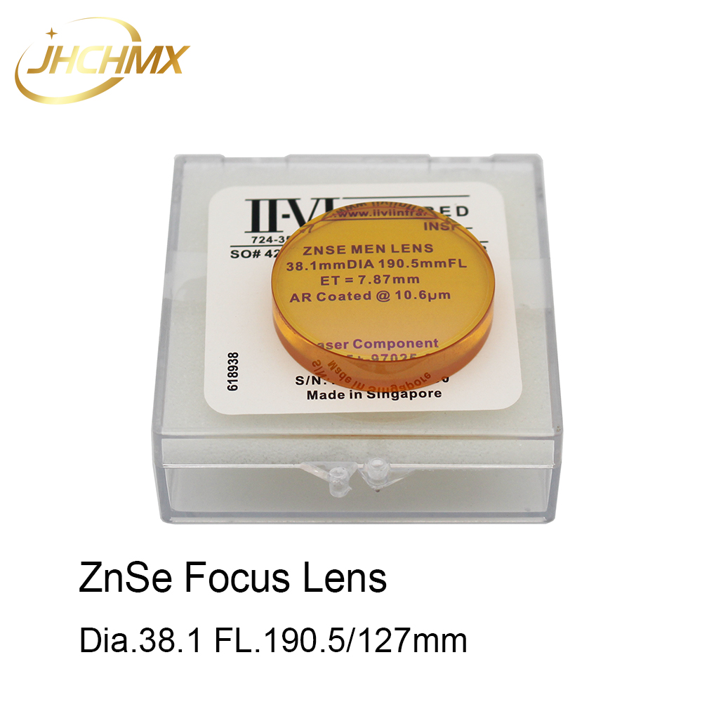 JHCHMX Co2 Lente di Messa A Fuoco USA CVD ZnSe Dia.38.1mm 1.5