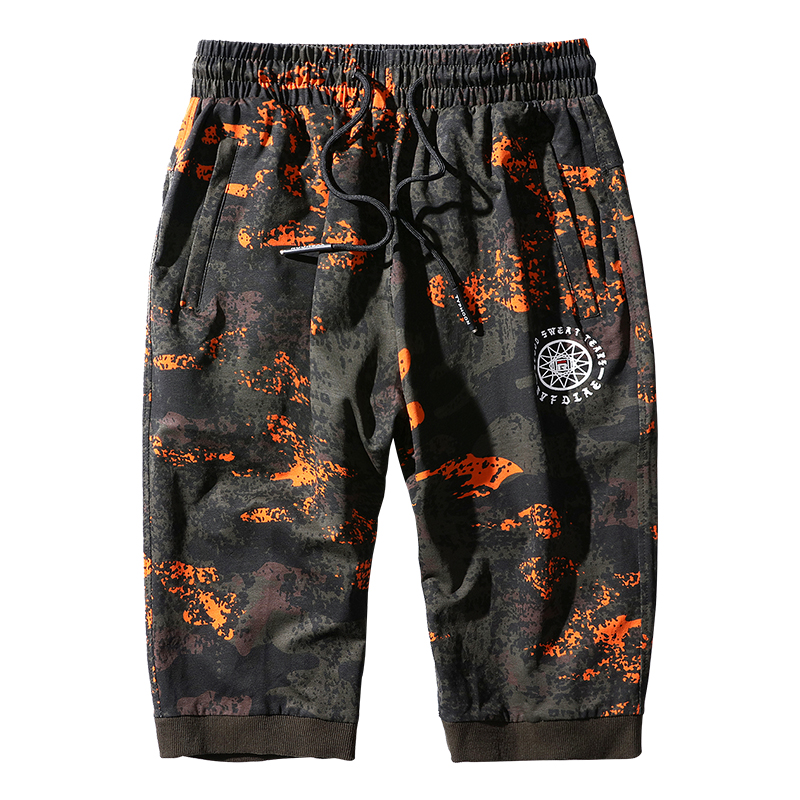 2019 Summer Camouflage Sports Shorts Men's Seven-minute With Large Size, XL Fitness Running Leisure Shorts On Sale