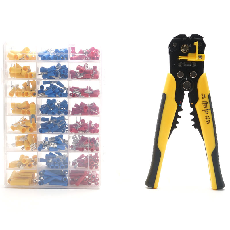 0 2 6 0mm² Multi tools Cable wire stripper pliers Crimping Terminals Sets Stripping Tools crimping pliers for terminals in Pliers from Tools