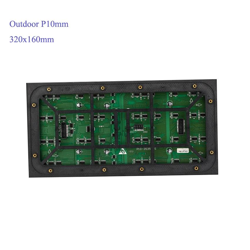 5pcs Outdoor P10mm 320x160mm Module, 1pcs HD-D10 Wifi Control Card, 1pcs Power 5v300W Supply 1pcs Temperature Sensor