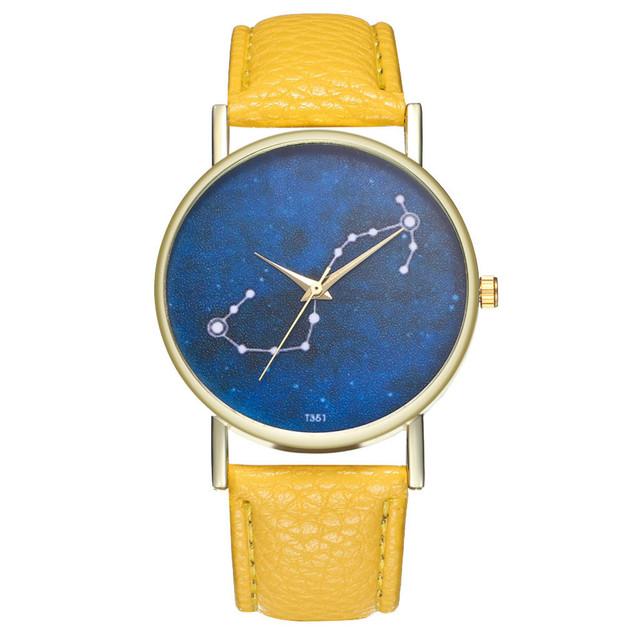 Reloj Mujer 2019 Vintage Women Watch Casual PU Leather Band Casual Quartz Business Wrist Watch Relogio Feminino Clock