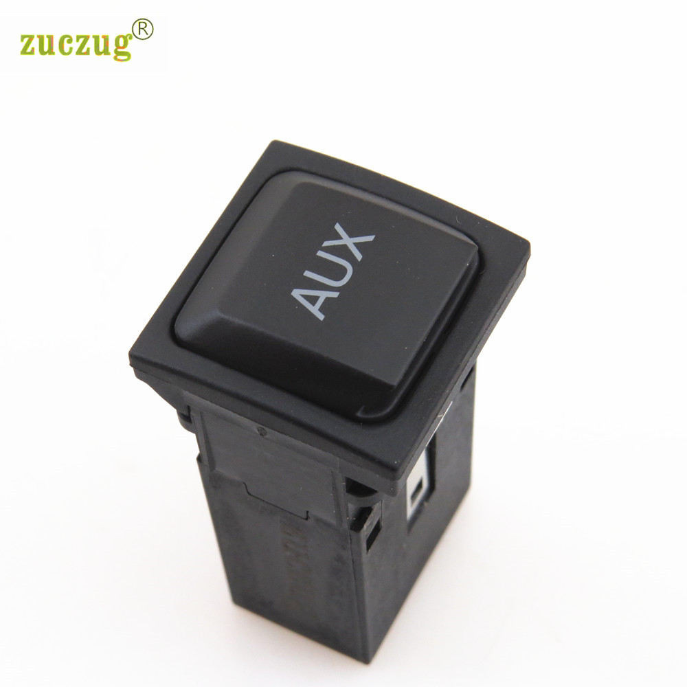ZUCZUG RCD510 RCD310 Car AUX Switch Connect Adapter For VW Golf MK6 Jetta MK5 Scirocco 5KD 035 724 A 5KD035724A