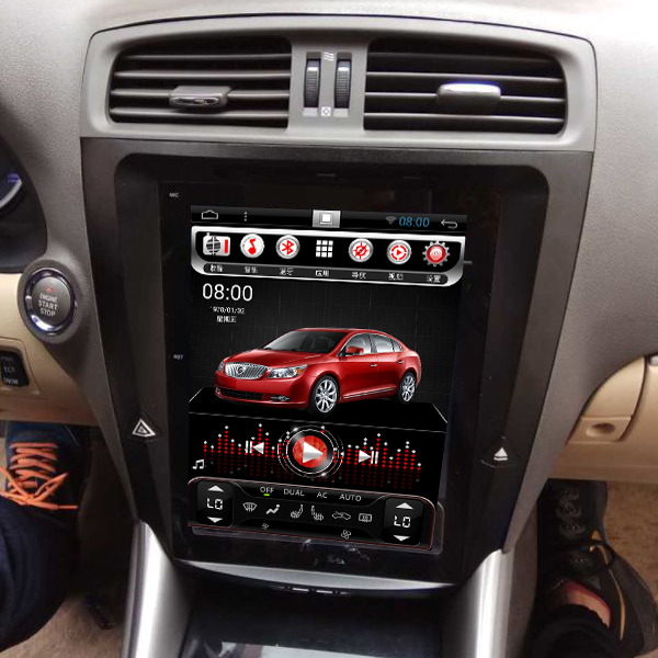 10.4 inch Android 4.44 Car PC Car DVD player for LEXUS IS250 IS300 IS350 2005–2011 Steering wheel control Wifi 1024*768 DVR