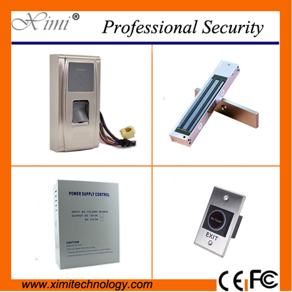 Good quality waterproof fingerprint reader standalone tcp/ip fingerprint access control system smat biometric door lock