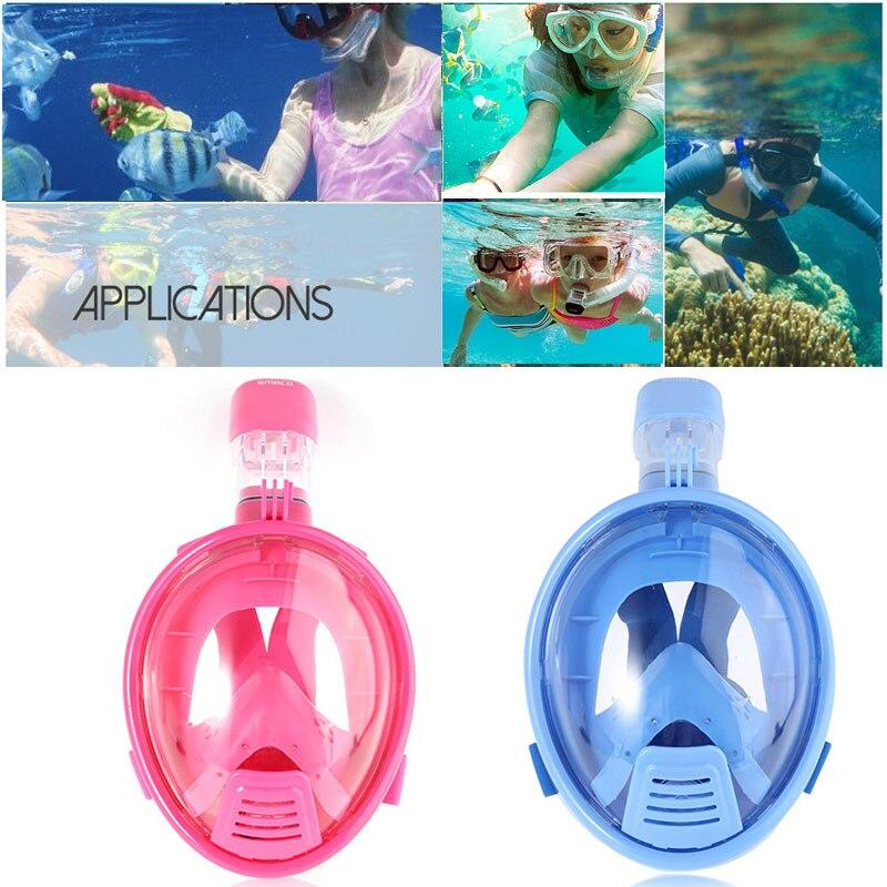 Детская маска для подводного плавания полный уход за кожей лица маска для подводного плавания подводная противотуманная маска для подводного плавания для Плавание Подводная охота погружения