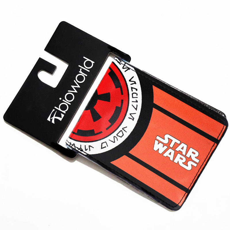 Star Wars Galactic Empire Emblem Bi-Fold Wallet Men Purse Casual Wallets  Animated Cartoon Purses nike перчатки тренировочные nike hypershield field player glove gs0262 007
