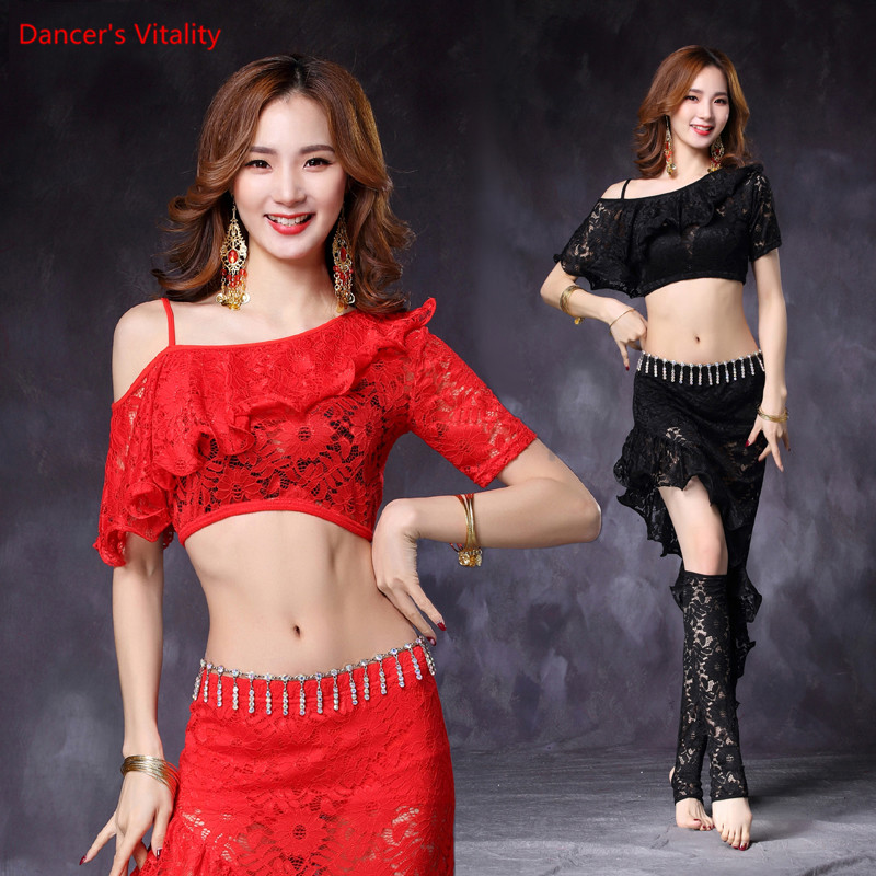 Belly Dance Lace Top