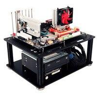 QDIY PC D008L PMMA EATX Motherboard Acrylic Bare Computer Case