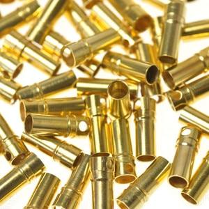 Image 2 - 100 шт. (50 пар) Золотая пуля банановый разъем штекер 2,0 3,5 4,0 5,0 мм для двигателя квадрокоптера ESC Lipo батарея Соединительная деталь