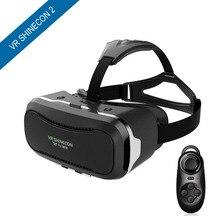 "Vr shinecon 2 3d vrกล่องแว่นตาเสมือนจริงแว่นตาวิดีโอgoogleกระดาษแข็งสำหรับiphone 6 s 4.7 ~ 6 ""มาร์ทโฟน"