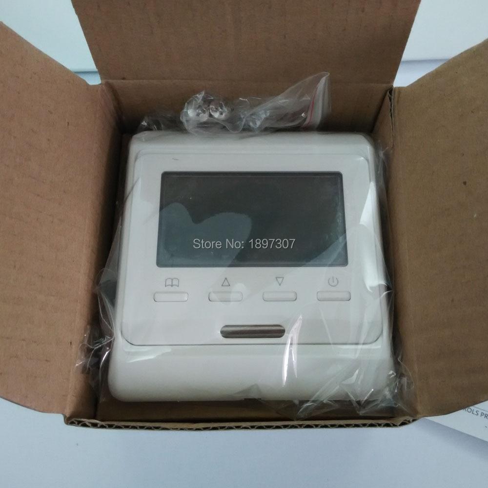 M6.716 230 V AC 16A ŠVOK savaitinis programavimas Grindų šildymas LCD ekrano kambario termostatas