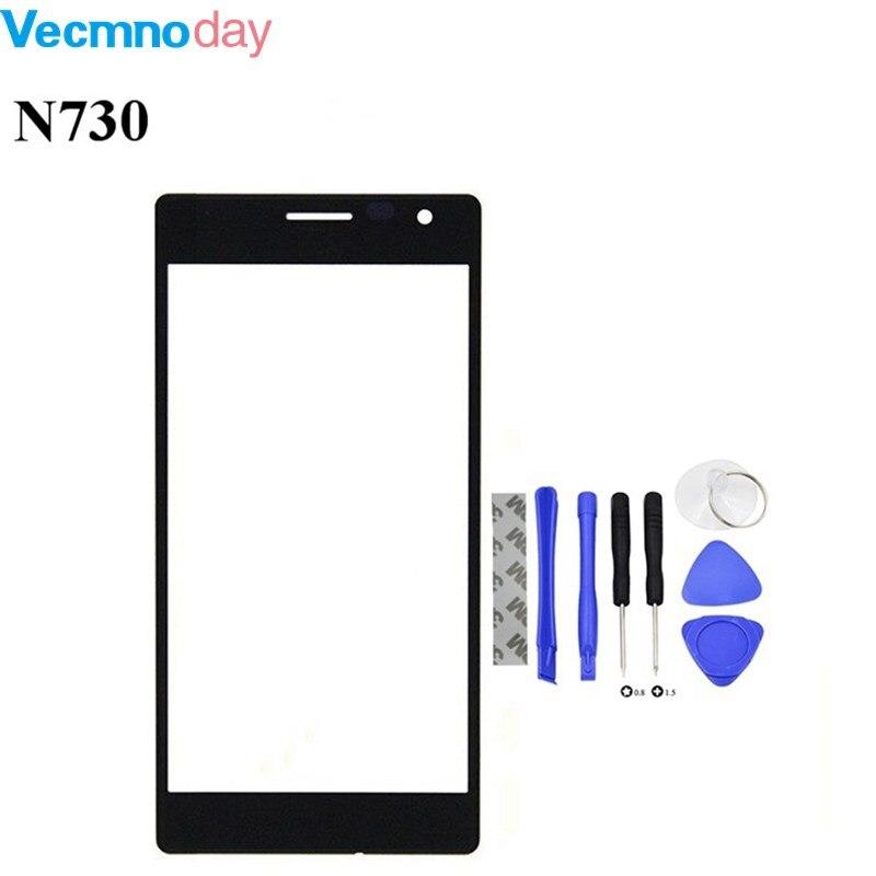 Vecmnoday Originale Écran Tactile Pour Nokia Lumia 730 735 Capteur Tactile Digitizer Écran Avant Verre Livraison Gratuite + outils