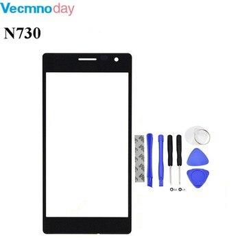 Vecmnoday pantalla táctil original para Nokia Lumia 730 735 Sensor de pantalla táctil del digitizador envío libre + herramientas