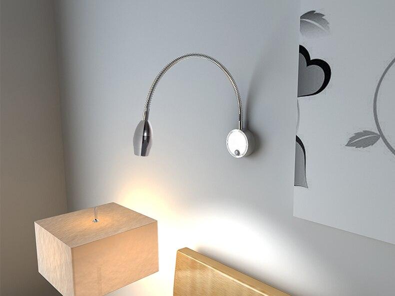 Moderna lampada da parete altalena braccio del riparo della parete