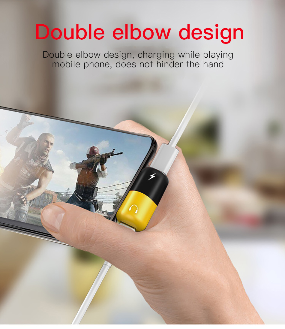 !ACCEZZ Pill Shape Adapter USB Type C For Huawei P20 Samsung S8 S9 Plus Note 8 3.5mm Jack Aux Adapter For HTC Oneplus 7 Pro Mi 9 (7)