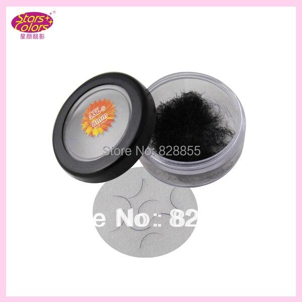 C Curl natural false eyelashes Human Hair Individual fake Eyelash Extension Imitation Mink Makeup Eye Lash 0.12mm thickness