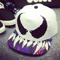 2016 New Fashion Devil Wings Embroidery Hip-Hop Hat Sport Baseball Cap  Adjustable Snapback Casquette Leisure Caps For Men Women