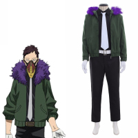 Cosplaydiy Custom Made Boku no Hero Cosplay Costume My Hero Academia Kai Chisaki Cosplay Costume Any Size L320