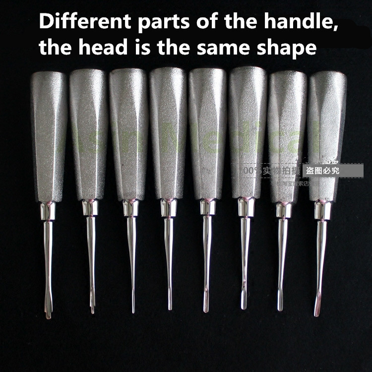 8PCS/lot Minimally invasive dental elevator Very minimally invasive tooth extraction tooth quite dental root fragment minimally invasive tooth extraction forcep toothdental instrument curved maxillary and mandibular teeth