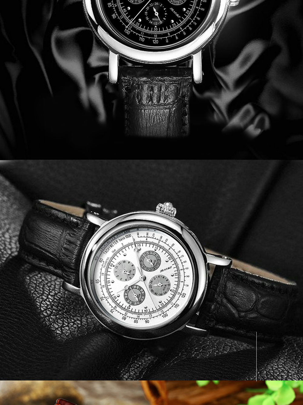 Senors Automatic Mechanical Watch For Men Stainless Steel (9)