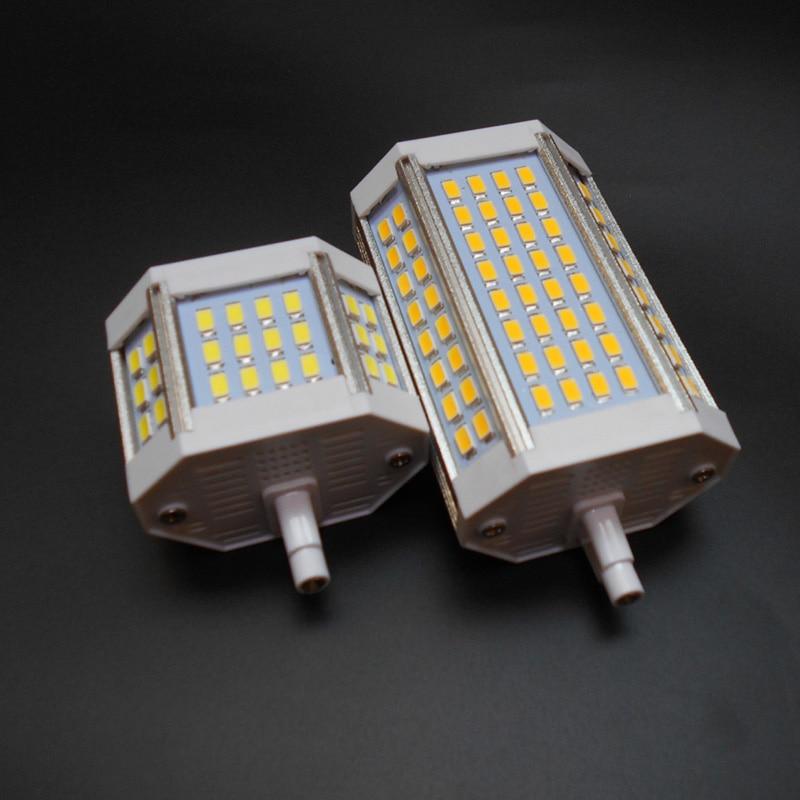 R7S Led 118mm Dimmable J78 J118 30W 25W 20W 10w Real Power Ampoule Led R7s Bulb R7S Light R7S Lamp Replace Halogen AC110-240V