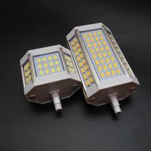R7S led 118 мм dimmable j78 j118 30 Вт 25 Вт 20 Вт 10 Вт реальная мощность ampoule led r7s лампа R7S Свет R7S лампа заменить галогенные AC110-240V