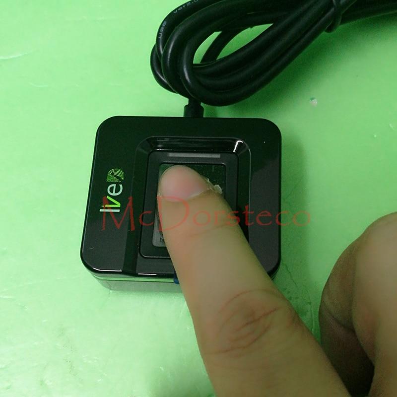 New fingerprint reader Live 20R fingerprint USB reader fingerprint scanner ZK live ID USB fingerprint sensor Live20R acss19 fingerprint