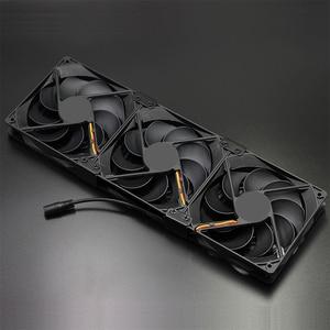 Image 5 - 220 فولت سرعة الصناعية حافظة خزانة عالية الجودة asic جهاز تعدين بيتكوين برودة تبريد المياه المبردة صف pc 120 مللي متر مروحة راوتر المبرد