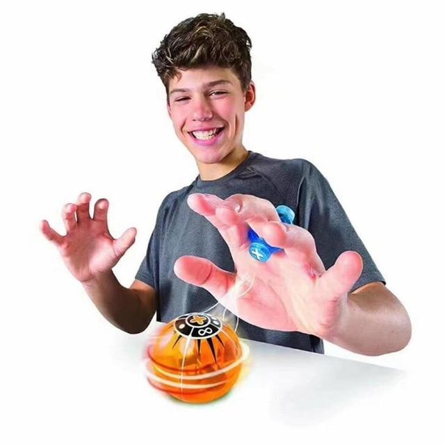 Магия Скорость индукции Магнето сферах Магнитная Flsahing светящийся шар Spinner игрушки стресс редуктора Рождественский подарок