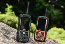 IP67 прочный Водонепроницаемый мобильный телефон противоударный walkie talkie радио PTT A12 ЖК-дисплей gsm старший старик сотовый телефон Dual SIM S6 Sonim