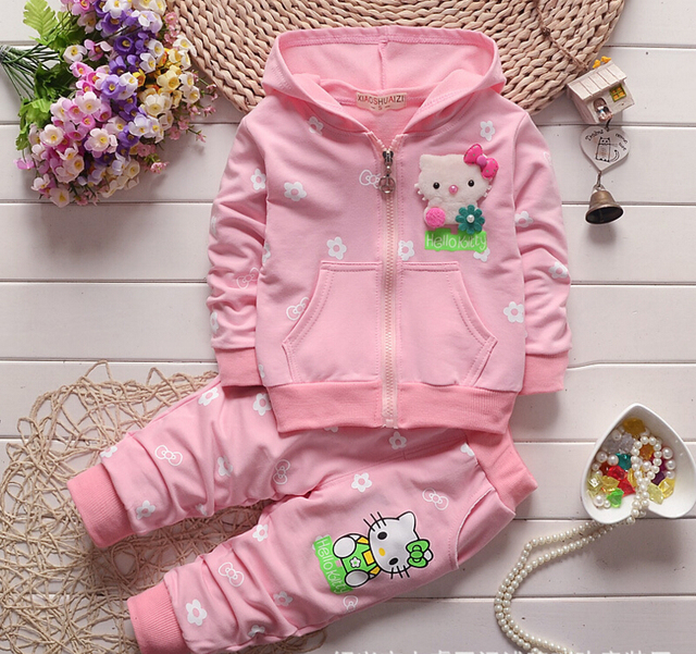 Brand Boys Clothing Sets Girl Children Clothing Set Spring Long sleeve Cotton Active Kids Clothes Set Girls Shirt + Pants Suit