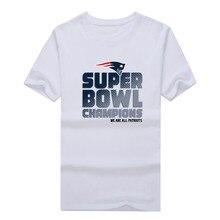 WE ARE ALL Patriots 2016 SUPER BOWL LI CHAMPIONS T-shirt 100% cotton New England 2017 T Shirt 0206-6