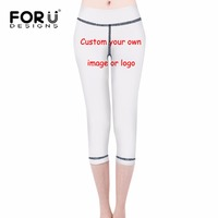 FORUDESIGNS Women S Fashion 3D Print Fitness Leggings Spring Summer Comfortable Workout Legging For Female Customized