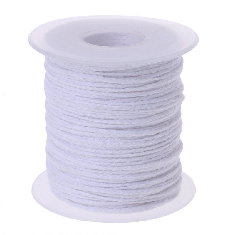 Spool of Cotton White Braid Candle Wicks Core Candle Making Supplies The YH