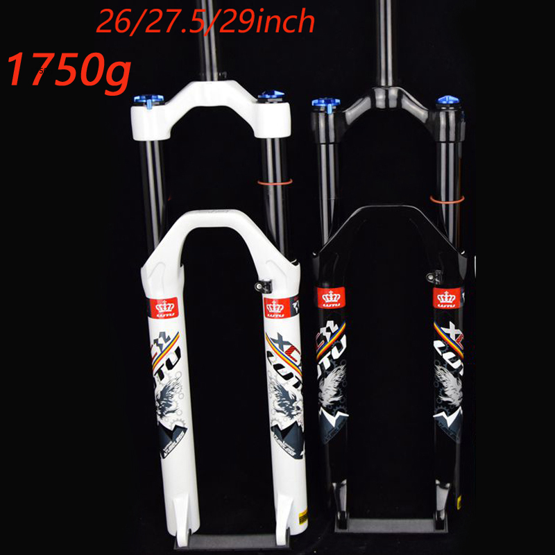 LUTU Mountain bicycle Fork 26in 27.5in 29 inch MTB bikes suspension fork air front fork remote and manual control HL RL
