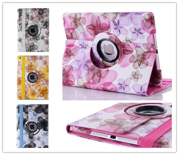 360 degree Rotating Cover Stand case For apple ipad5 ipad air Case cover