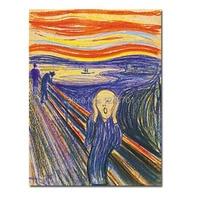 エドヴァルド·ムンク油絵有名な油絵の複製skrik油絵recopy